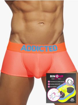 Addicted Ring up neon mesh Trunk