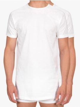 Alan Red 2-pack T-shirts Derby Long Fit Thin O-Neck