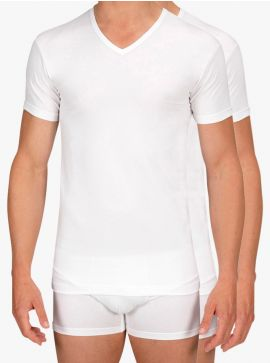 Alan Red 2-pack T-shirts Oklahoma Body Fit V-Neck