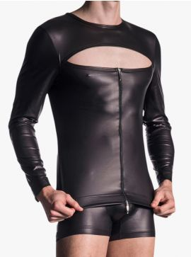 Manstore M510 Zipped Shirt
